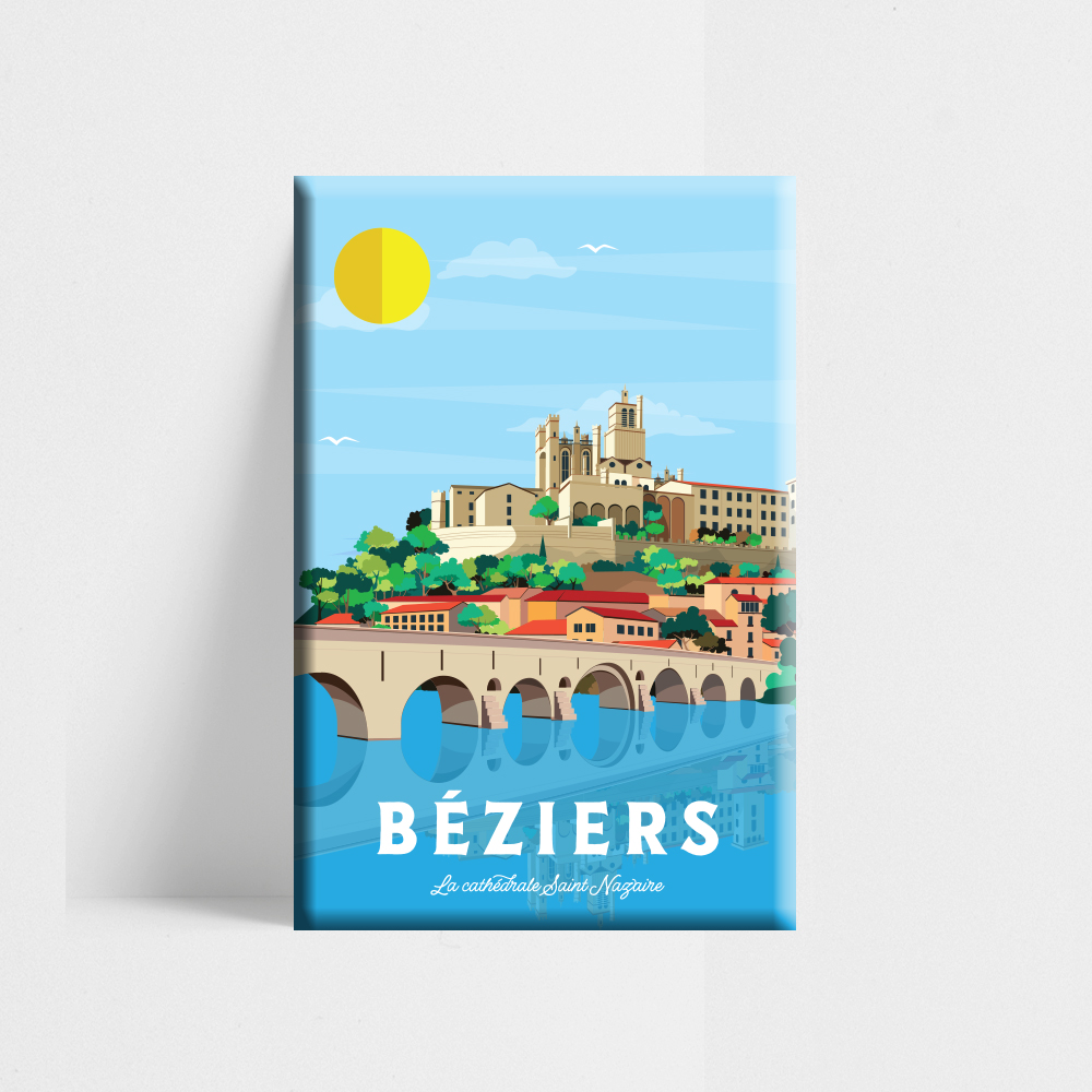 magnet beziers