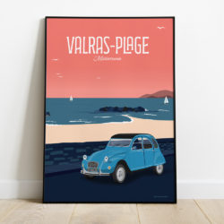 affiche de Valras Plage