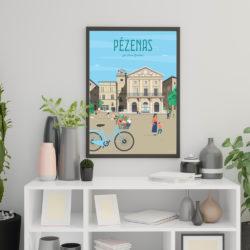 affiche deco pezenas